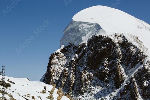 Snow cap on Mountain