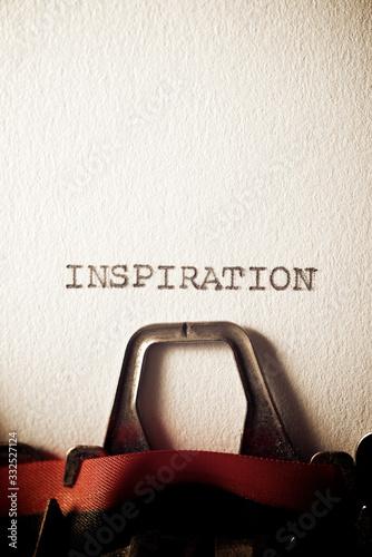 Inspiration concept view Wallpaper Mural