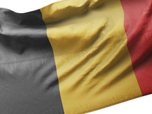 3d Illustration Flag Of Belgiu...