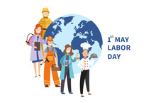 1st May Labor Day Poster Desig...