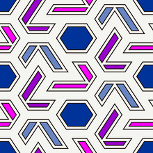 Contemporary Geometric Pattern...