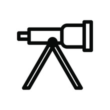 Telescope Icon , Template Logo...