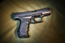 Pistola De Airsoft Em Cima De ...