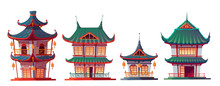 Traditional Chinese House Buil...
