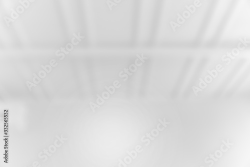 Abstract Blur white room for background Wallpaper Mural