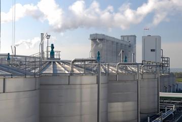 Biocarburant, éthanol, usine Téreos de Lillebonne