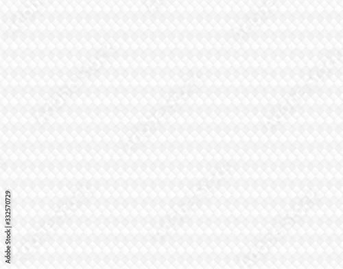 Vászonkép abstract Polygon background white