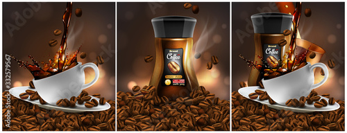 Foto Coffee  advertising design