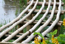 Base Structure Of Bamboo Bridg...