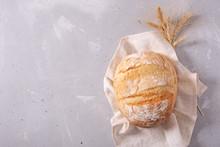 Fresh Homemade Crisp Bread, To...
