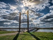 Kong Hans Suspension  Bridge I...