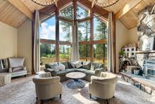 Amazing Living Room With Three...