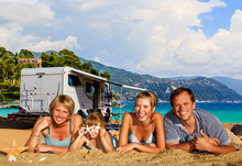 Family Camping Travel With Cam...