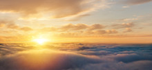 Beautiful Sunrise Cloudy Sky F...