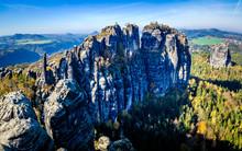 Schrammstein Mountains