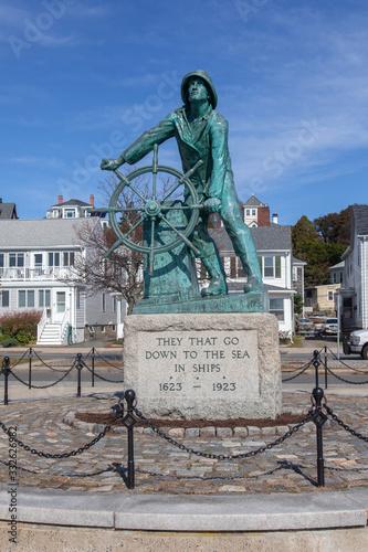 Gloucester Fisherman's Memorial Fototapeta