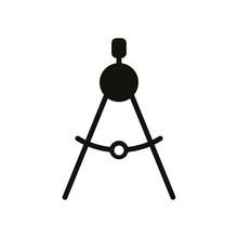 Compasses Icon, Divider Icon, ...