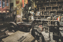 Old Abandoned Motorcycle Works...