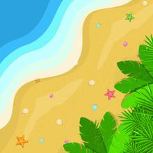 Summer Sea, Ocean And Beach Po...