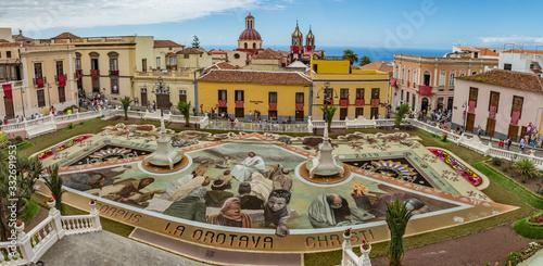 la Orotava, Tenerife, Spain - June 27, 2019 Fototapet