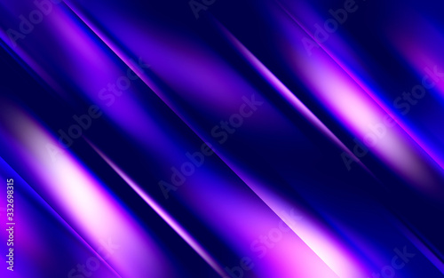 Abstract violet and blue background with smooth gradients