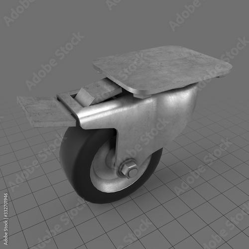 Obraz Caster roller wheel - fototapety do salonu