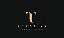 Modern Creative T Logo Design ...