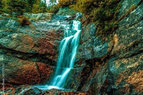 waterfall exposure - 332715322