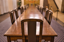 Picture Of Empty Conference Ta...