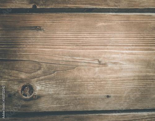 Obraz Rustic wooden background texture: Closeup of old wooden planks - fototapety do salonu