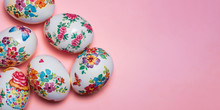 Decoupage Decorated Easter Egg...