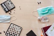 Flat Lay Games And Isolation E...