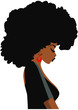 Afro Woman eps,Black Woman eps, African American Woman eps,Cricut Design, Silhouette eps, Sublimation Design Downloads