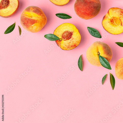 Foto Summer fruit background