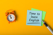 Time To Learn English Online -...