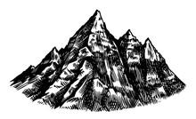 Alps Mountains. Chamonix-Mont-...