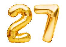 Number 27 Twenty Seven Made Of...