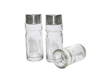 Set Of Glass Salt And Pepper S...