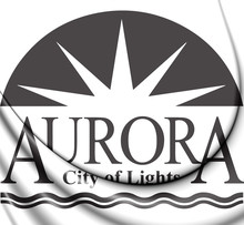 3D Seal Of Aurora (Illinois), ...
