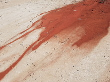 The Red Sand Of The Steep Eros...