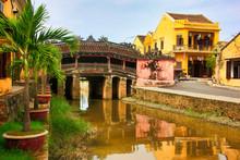 The Japanese Bridge In Hoi An,...