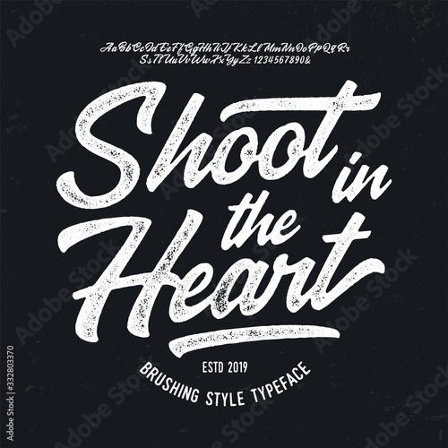"""Carta da parati """"Shoot in the Heart"""""""