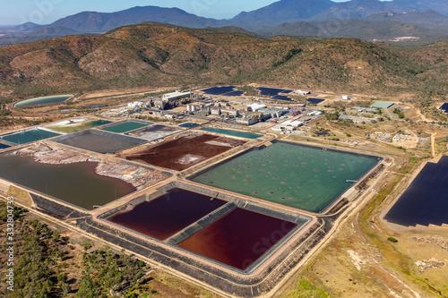 Fotografía Tailing ponds at Korea Zinc's Sun Metals plant in Townsville, Qld
