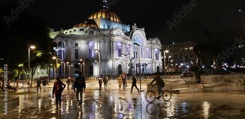 Fotomural Bellas Artes de Noche  CDMX
