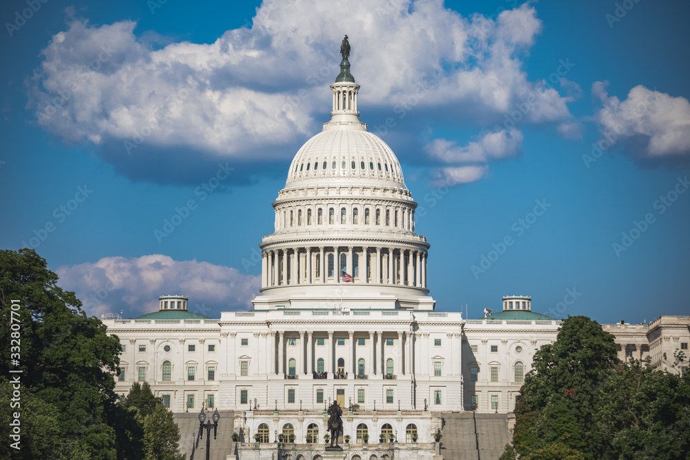 Fototapeta US Capitol Building in Washington, DC