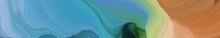Creative Banner With Steel Blu...