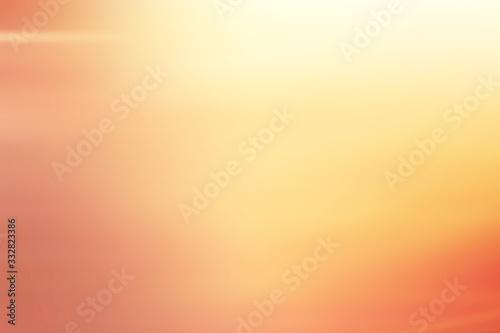 orange yellow blurry background, gradient for design, unusual background Fototapet