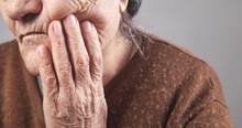 Elderly Woman Suffering From T...
