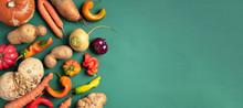 Trendy Ugly Organic Vegetables...