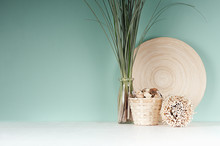 Calm Eco Home Decor With Natur...
